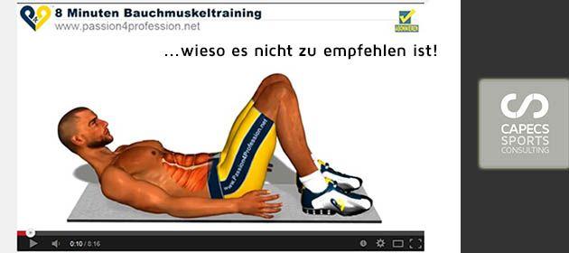 Bauchmuskeltraining 8 Minuten Video - Screenshot