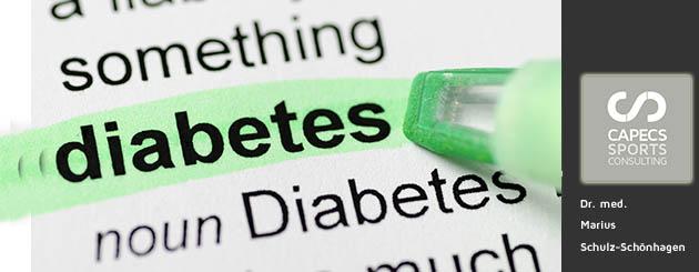 Diabetes. Helfen Krafttraining und Ausdauertraining?