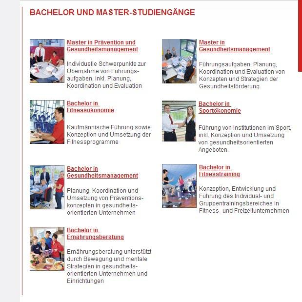 Studiengänge an der DHFPG Saarbrücken