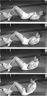 Bauchmuskeltraining und Rückentraining zugleich: Funktionscrunch